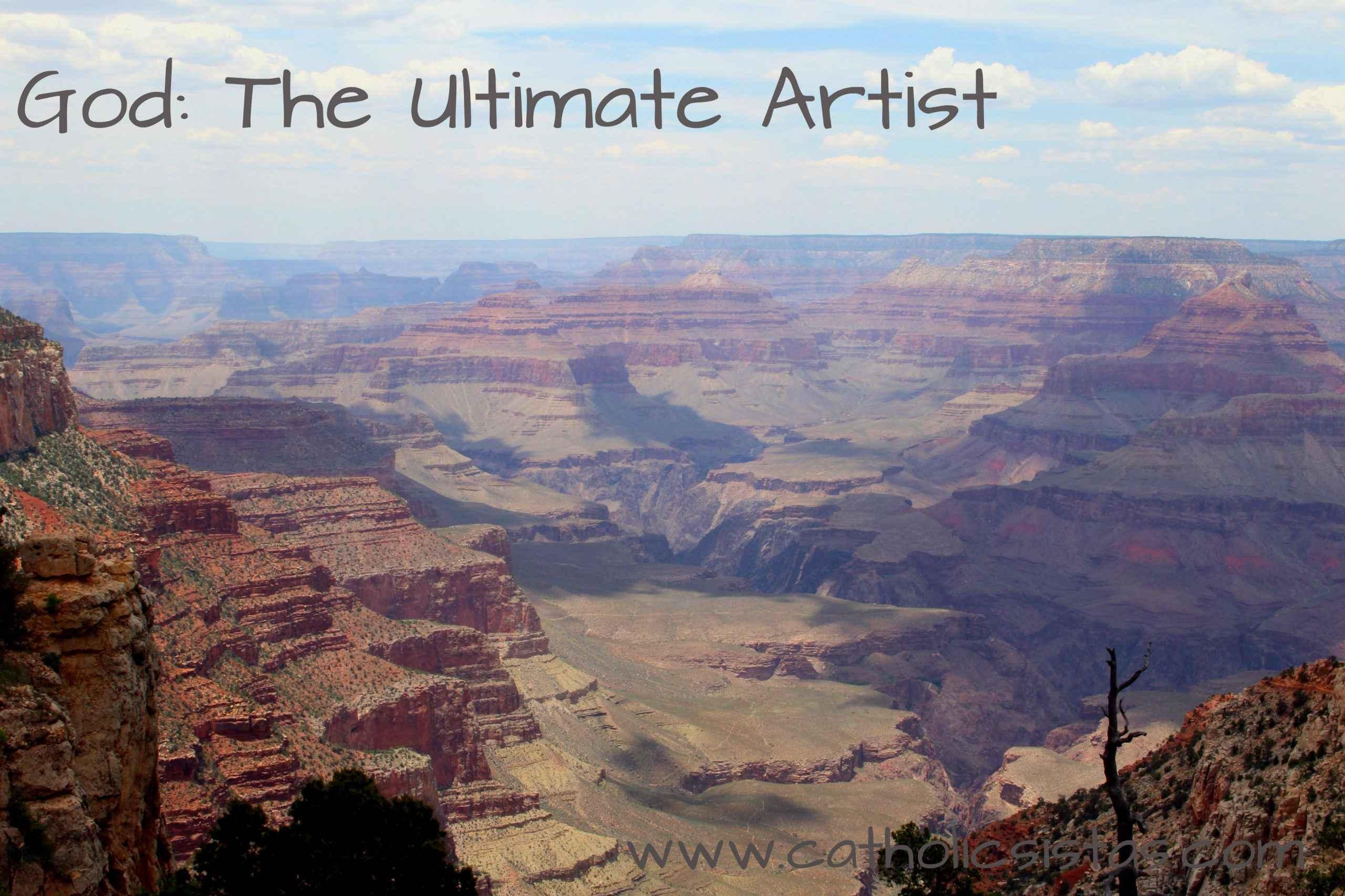 God: The Ultimate Artist