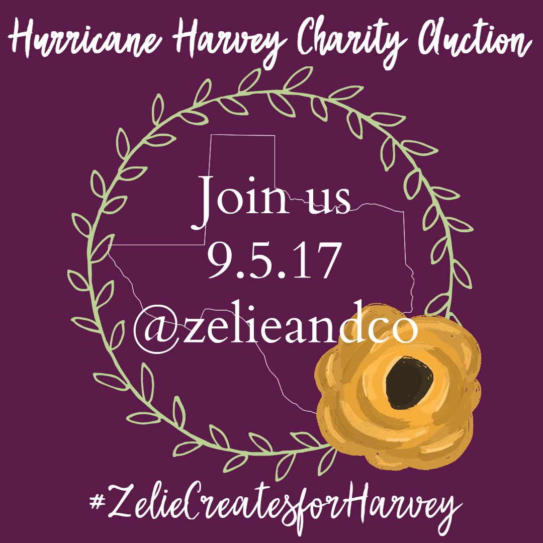 Zelie Creates Charity Auction