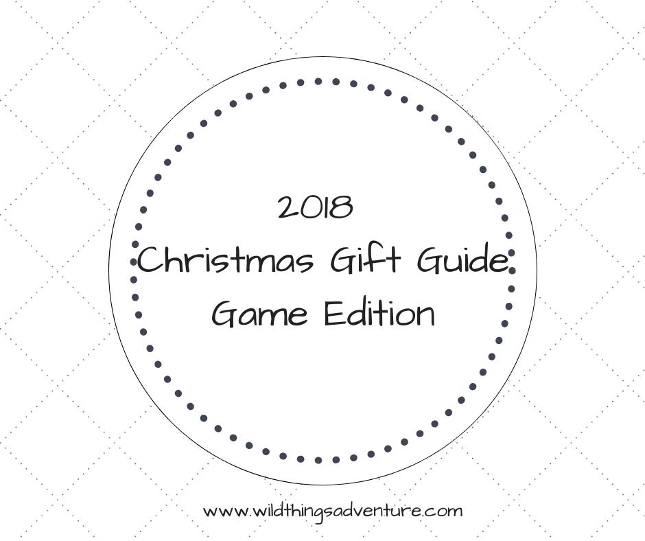 Christmas Gift Guide – Game Edition