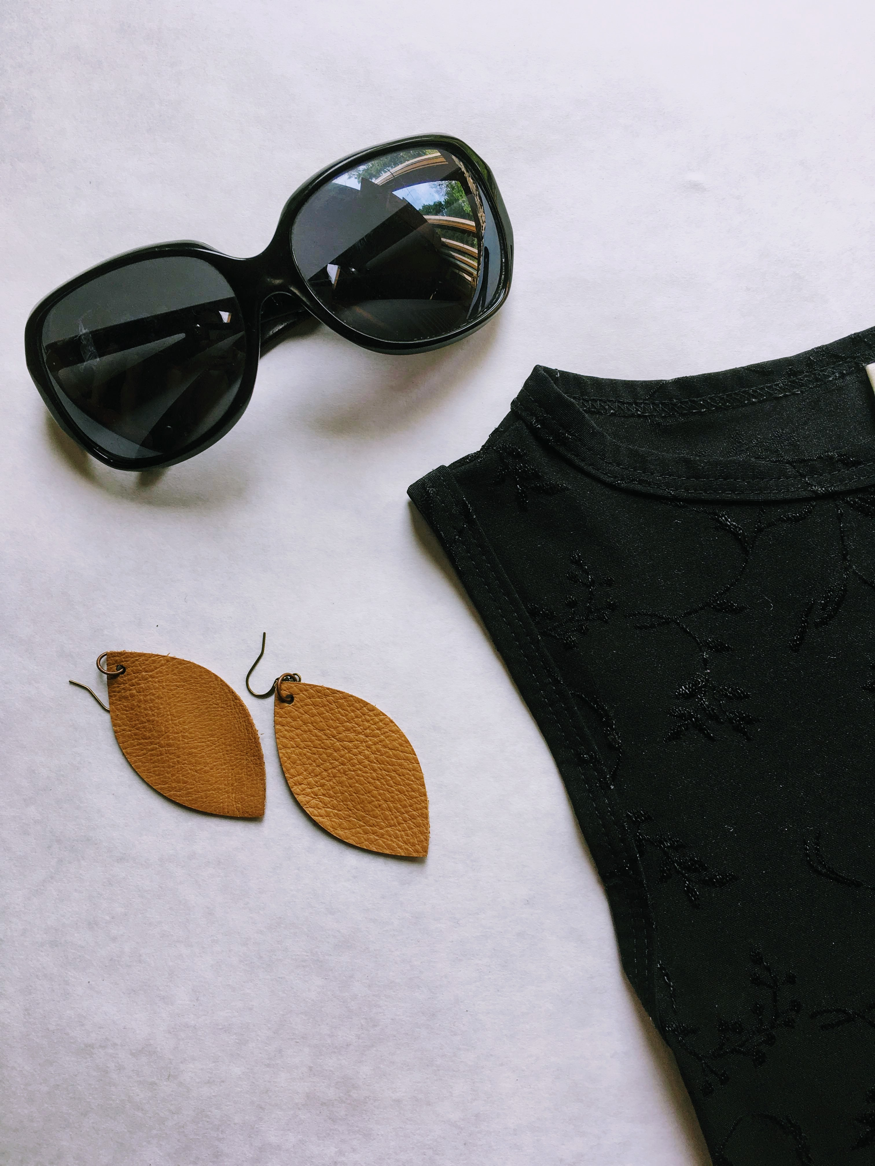 Leather Earring Gift Set